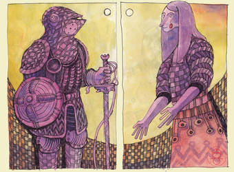 Purple couple by sigmar95