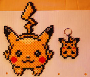 Hama Beads Pikachu by Irizaar
