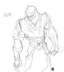 SubZer0 sketch by byte2k