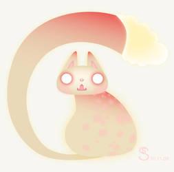 Mushroom Cat by StephanieStutz
