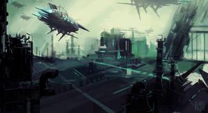 Dark City 2083 by StephanieStutz