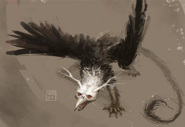Creature Concept by StephanieStutz