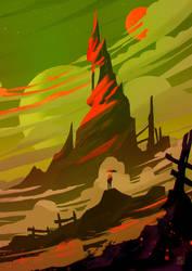 Red-Shiny-Mountain by StephanieStutz