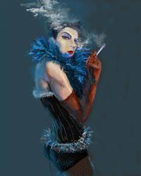 drag queen :P by psychyginger