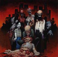 Zombies by DH666