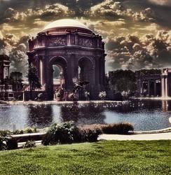 Surreal Palace of fine Arts by momovaladez