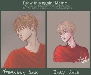 Draw this again meme by sulgao