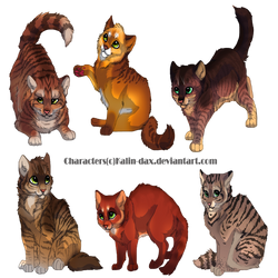 Kalin-dax Hypo kits commission by LittleVulpine