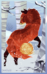 THE DANCING FOX by LittleVulpine