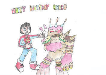 Reece Birthday gift 2018 by KivaTheDCWizard