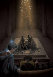 HP Art Project - The Pensieve by B-Dub33