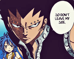 Levy and Gajeel by simplyKia