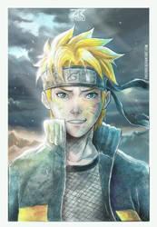 Naruto by ZheeroII