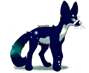 Northern lights tail adopt o^o CLOSED by neonwolf6778