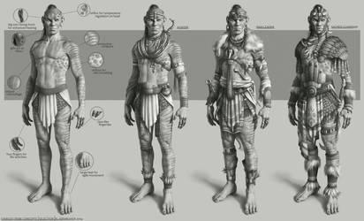 Chibuzo tribe concepts by NikolayAsparuhov
