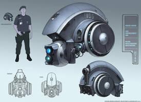 Hound drone concept by NikolayAsparuhov