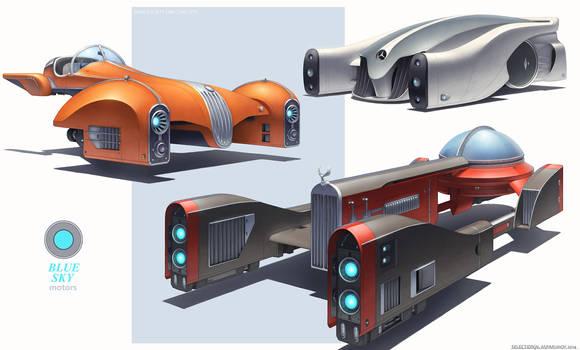 HS car concepts by NikolayAsparuhov