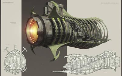 IRIS back concept art by NikolayAsparuhov