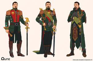 DUNE Leto concepts by NikolayAsparuhov