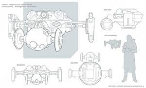 REPORT K9drone concept by NikolayAsparuhov