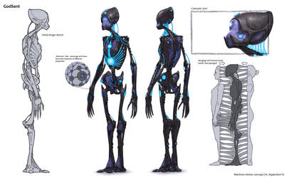 Mechron minion concept by NikolayAsparuhov