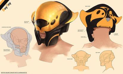 BoyToy Helmet concept by NikolayAsparuhov