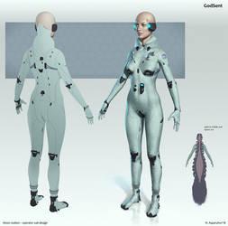 Operator suit design by NikolayAsparuhov