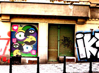 Street Art in Prague by smile-turned-down