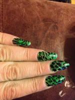nails by darkangelpixie