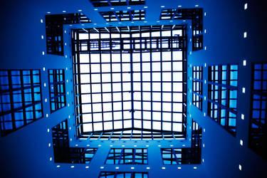 Blue Roof by manzin