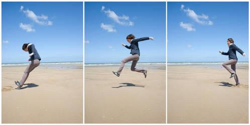 saut triptique by manzin