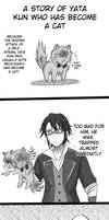 Sarumi: A story of Yata kun who became a cat pt1 by kaguya-lamperouge