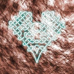 Glowing Celtic Knot Heart by VideoCMS