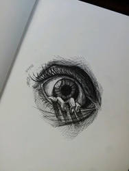 Quick eye sketch by MagnaSicParvis