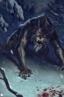 Venerated Werewolf by FloyaMios