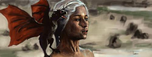 Khaleesi by TrueInstinct