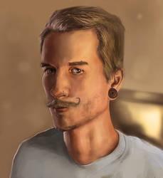 Self Portrait by TrueInstinct