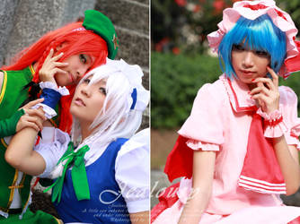 Touhou Project by IndraAdryan
