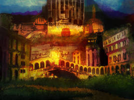 Abandoned City by bpinalone
