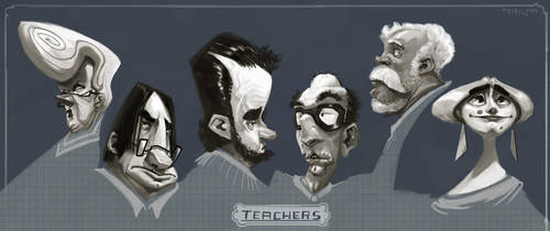 Teachers by TobiTrebeljahr