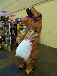 T-Rex Dealers Room Zenkaikon 2018 by bumac