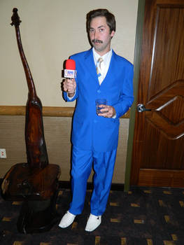 Ron Burgundy Colossalcon East 2018 by bumac