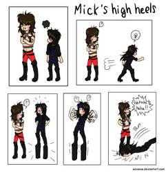 Mick's High Heels by SavanasArt