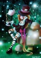 Tea Time in Wonderland by SavanasArt