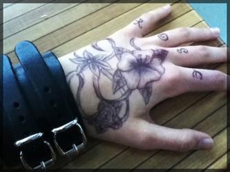 Flowers Tattoo by SavanasArt