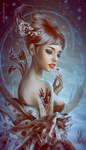 Cherry Rose by SvetlanaKLimova