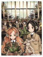 herbology by hammysaurus