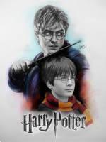 Harry Potter by karlyilustraciones