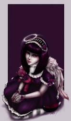 Gothic Lollita Angel by RomanticFae