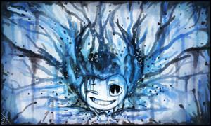 Bendy watercolor - Wallpaper by BelieveTheHorror
